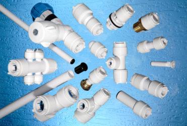 Фурнитура для пластиковых труб водоснабжения