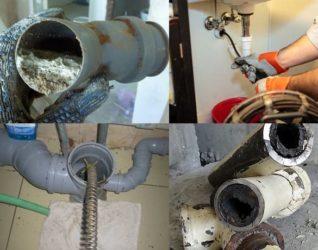 Как убрать воздушную пробку в канализации?