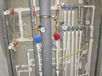 Разводка труб водоснабжения в квартире полипропилен