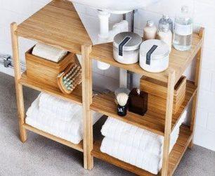 Шкафчик под раковину в ванную своими руками