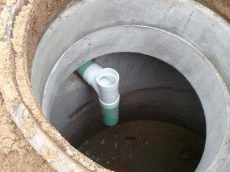 Как сделать колодец для канализации?