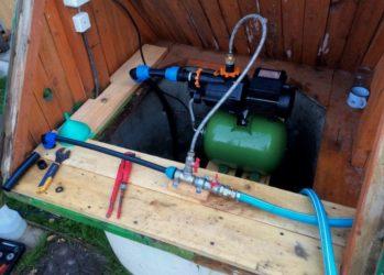 Как сделать водоснабжение на даче из колодца?