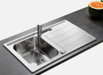 Как устанавливается раковина на кухне?