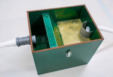 Что такое жироуловитель на канализации?
