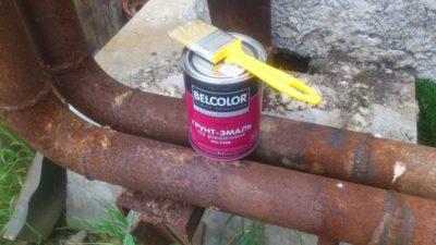 Краска для труб горячего водоснабжения